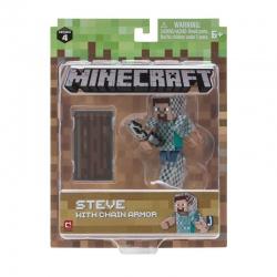 MINECRAFT Steve w zbroi z...