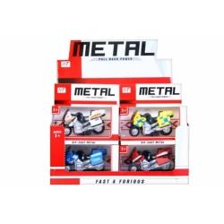 MOTOCYKL METAL 12x11x9CM