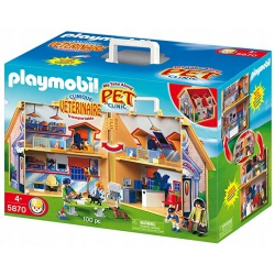 PLAYMOBIL VETERINARE 5870...