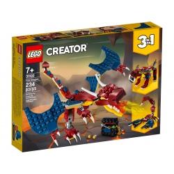 LEGO CREATOR 31102 Smok ognia