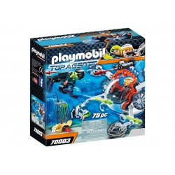 PLAYMOBIL TOP AGENTS 70003...