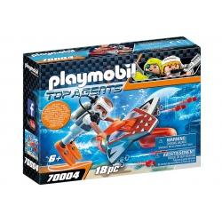PLAYMOBIL TOP AGENTS 70004...
